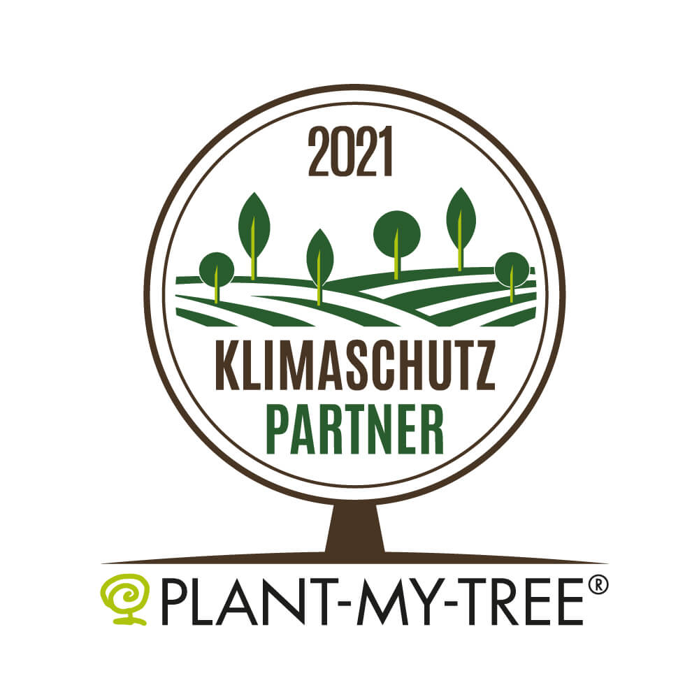 Logo Klimaschutzpartner PLANT MY TREE®